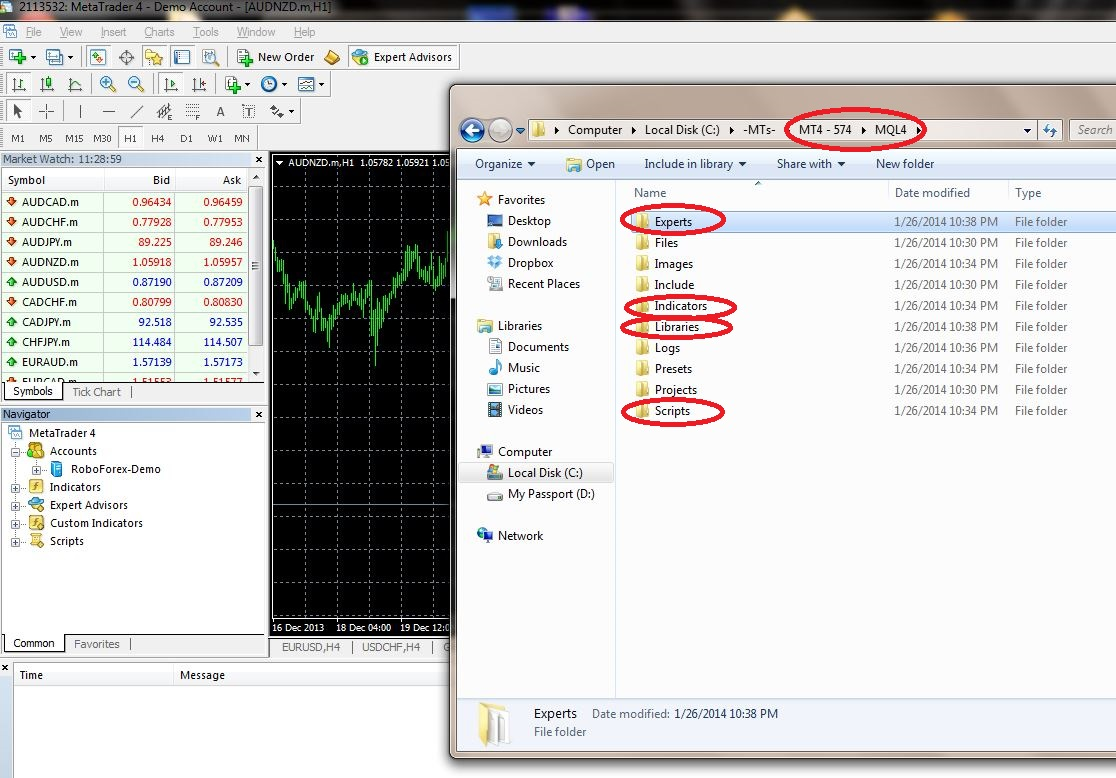Metatrader 4 1 - Особенности перехода на Metatrader 4 build 574 и выше
