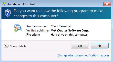 Metatrader 4 2 - Особенности перехода на Metatrader 4 build 574 и выше