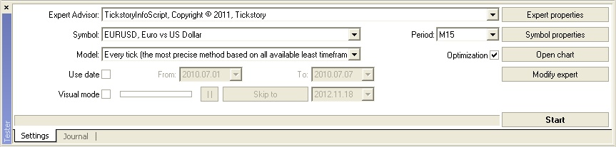 Tickstory 2 - Получить 99% при тестировании советников в MT4 - легко!