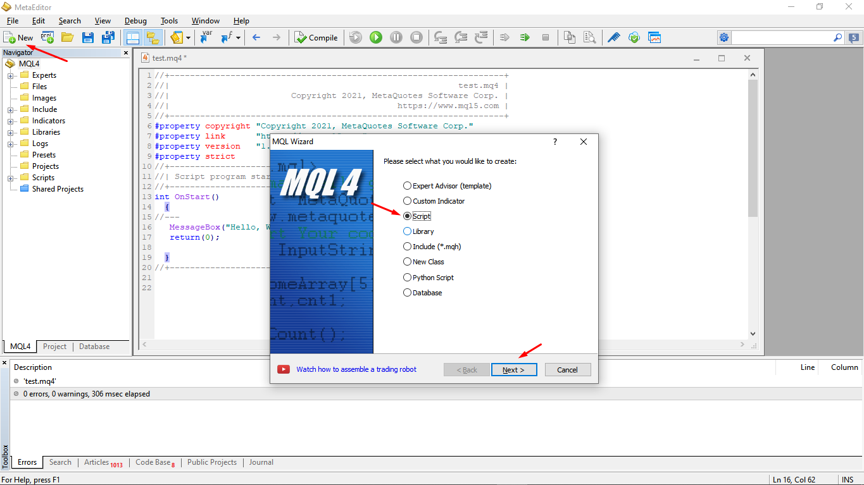 MQL4 3 - Знакомство с MQL4